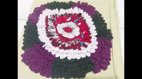 how to make a doormat from waste cloth door mat using waste cloth part 1