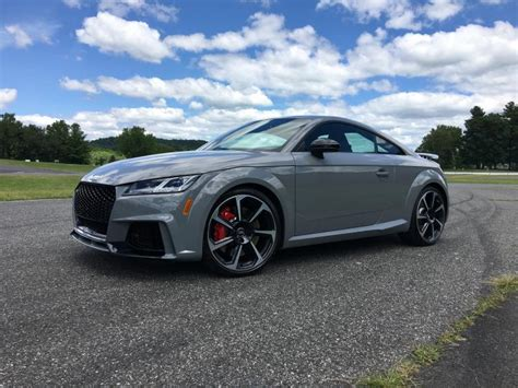 drive  audi tt rs coupe ny daily news