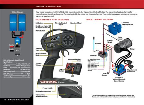 traxxas   user manual page