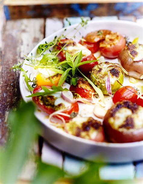 recette cuisine legumes légumes farcis mozzarella parmesan pour 6 personnes