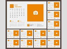2018 calendar Vector Cdr Ai Eps Free Download CdrAicom