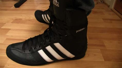 Adidas Probout Boxing Boots Up Close