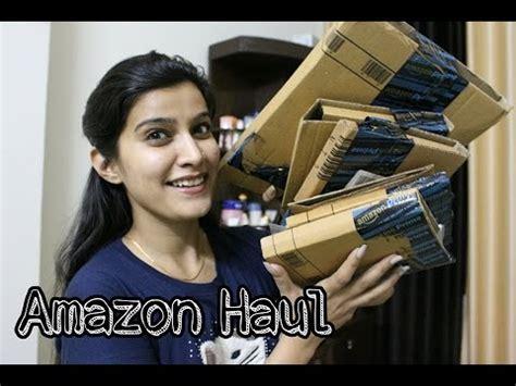 Unboxing Amazon Haul  Online Makeup Shopping