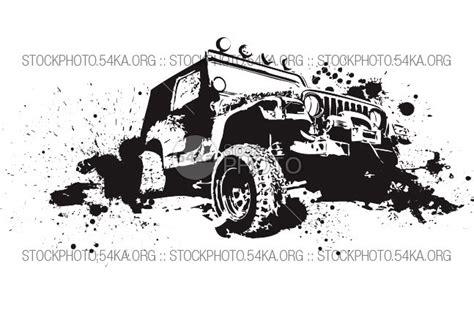 offroad jeep graphics vector graphics off road 4 4 vector art graphics 54ka