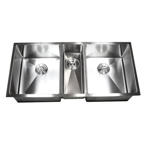 what is a triple bowl sink used for 42 inch stainless steel undermount triple bowl kitchen