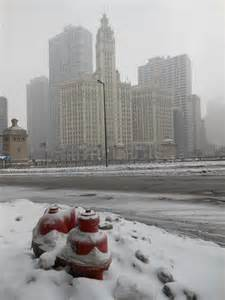 Snow Storm in Chicago Today