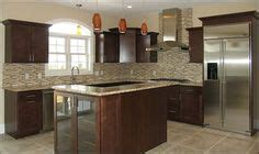 lowes backsplash kitchen kitchen with lowered bar timberlake scottsdale cherry 3865