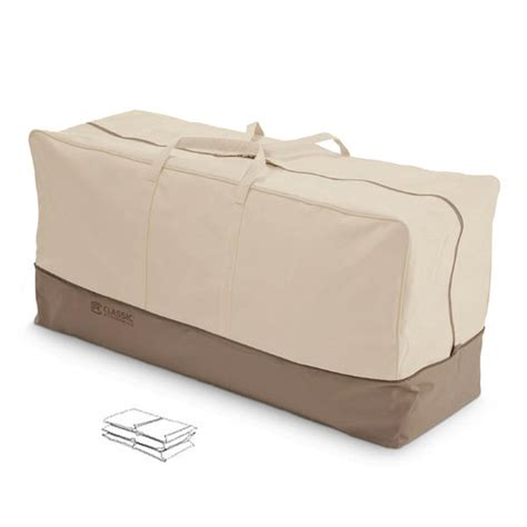 veranda patio cushion storage bag by classic accessories