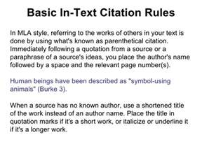 How to Cite a Quote in an Essay MLA Format