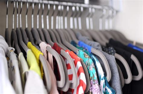 Hangers In Closet by How To Easily Organize Everything In Your Closet For Cheap