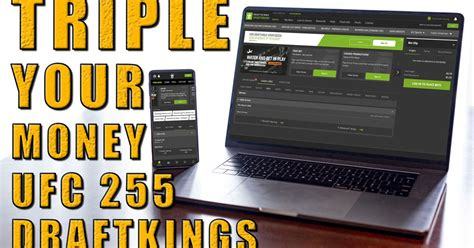 DraftKings Sportsbook Is Letting UFC 255 Bettors Triple ...