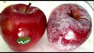 Watch This Before Eating Apples   Wax Coating On Apples