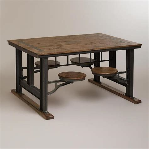 industrial looking dining room tables dining table industrial style dining table