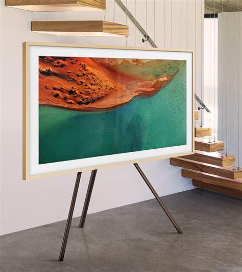 display easel samsung the frame tv display custom fully