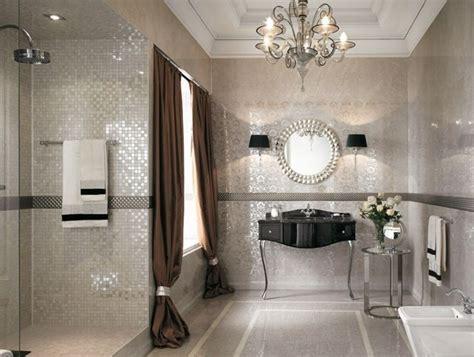 Badezimmer Fliesen Verschönern by Kristall Kronleuchter Hochglanz Badezimmer Fliesen Home