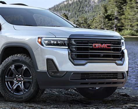 gmc acadia    facelift  compared