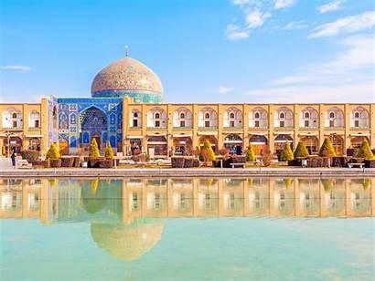 Isfahan Square Jahan Naqsh Iran Imam Center