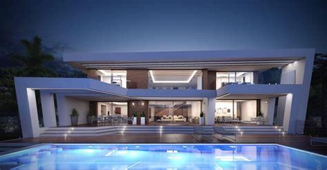 Moderne Villa Mit Pool by Luxus Villa In Spanien An Der Costa Blanca Mit Meerblick