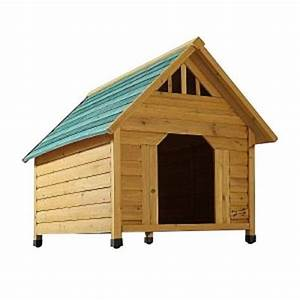 pet squeak 27 ft l x 2 1 3 ft w x 25 ft h alpine With wood dog houses home depot