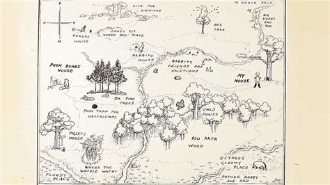 Fabled Map Shows Love For Pooh Is Never Lost