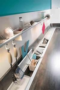 Rangement Ustensile Cuisine : rangements pratiques pour la cuisine c t maison ~ Melissatoandfro.com Idées de Décoration