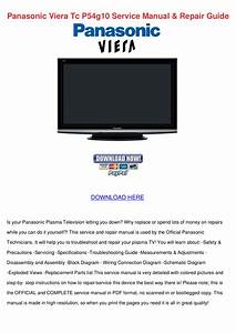 Download Free Pdf For Panasonic Viera Tc