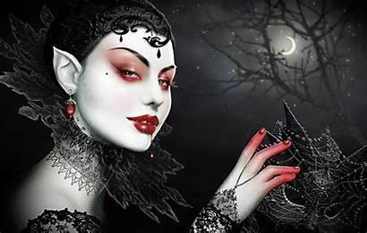 Vampire Fantasy Background Female Vampires Dark Gothic