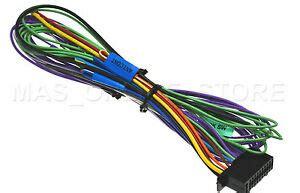 Kenwood Ddxs Ddx Genuine Wire Harness Pay Today