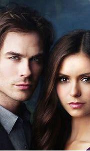 Damon & Elena - Damon & Elena Fan Art (21165874) - Fanpop