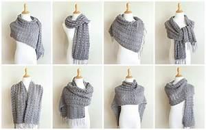 Simple Shells Light Wrap Crochet Pattern