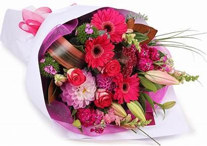 Bouquet Flowers Birthday Flower Transparent Bouquets Clipart
