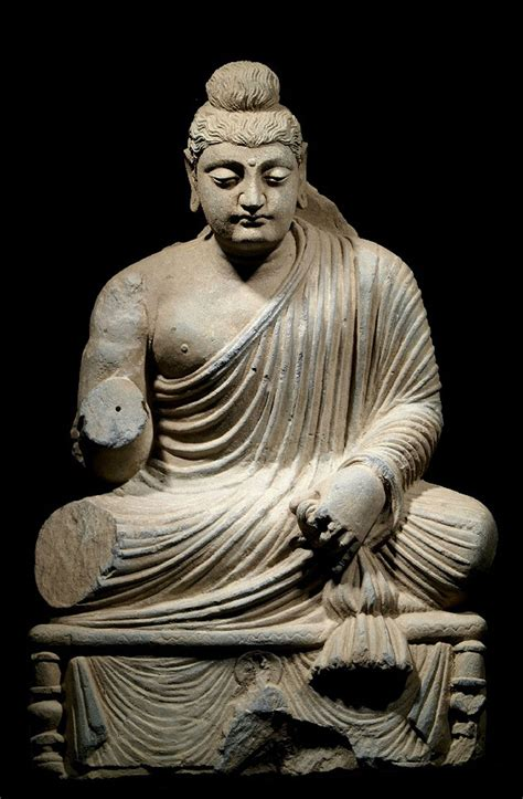 For other uses, see buddha (disambiguation). Large Gandharan Seated Buddha - Edgar L. Owen Galleries Treasury