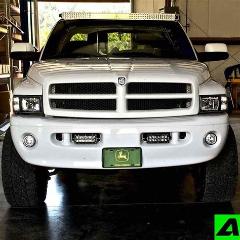 Led Light Bar Mounts Dodge Ram by 1994 2001 Dodge Ram 1500 2500 Apoc Roof Mount For 52