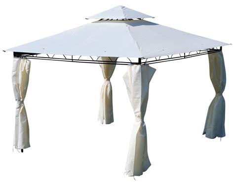 pavillon dach 3x3 eleganter garten pavillon 3x3 meter dach 100 wasserdicht uv30 9m 178 mit 4 vorh 228 ngen