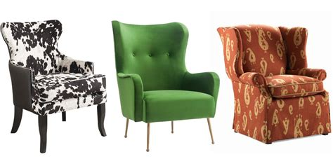 wingback chairs modern upholstered wing  chairs