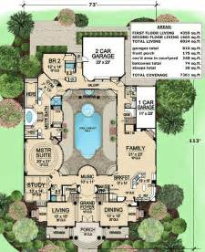 center courtyard house plans plan 36186tx luxury with central courtyard luxury house plans the and the end