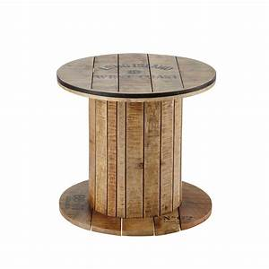 Tisch Aus Kabeltrommel : beistelltisch kabeltrommel aus mangoholz d50 maisons du monde ~ Orissabook.com Haus und Dekorationen