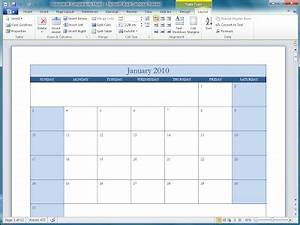 Microsoft Outlook Calendar Templates Office 2010 Office 2010 Calendar Templates