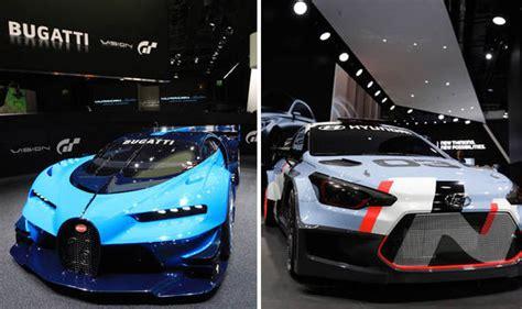 frankfurt motor show  showcasing video game cars