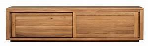 Meuble Bas Porte Coulissante : meuble tv bois portes coulissantes 2017 avec meuble tv ~ Dailycaller-alerts.com Idées de Décoration