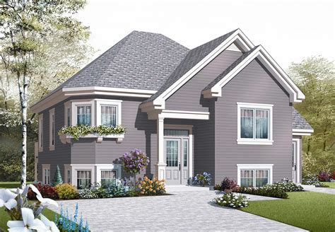 Traditional House Plans  Home Design Dd3322b