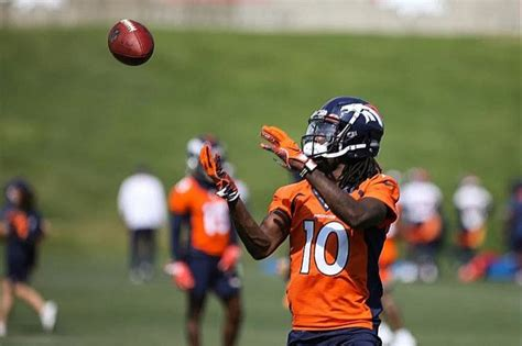Jerry Jeudy makes impression at Denver Broncos' training ...