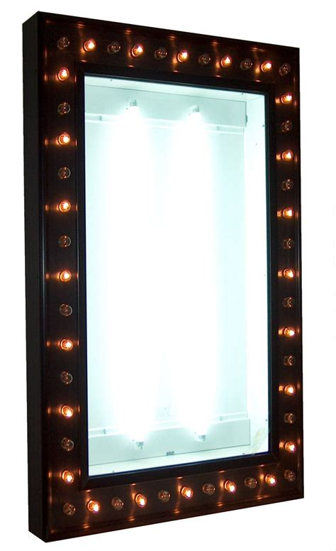 new illuminated marquee poster case with chase lights