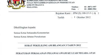 Semua kakitangan pejabat kesihatan daerah ( nama daerah). Contoh Surat Permohonan Keluar Negara Atas Urusan Persendirian