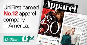 Names For Cleaning Services Unifirst Named No 12 In Apparel Magazine 39 S Annual Top 50