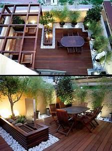 Terrassengestaltung ideen holzboden und holzmobel for Garten terrasse ideen