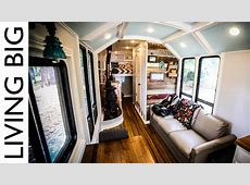 School Bus Converted into Incredible OffGrid Home The