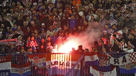 Fifa Fines Croatia For Anti Serbia Chants Fans