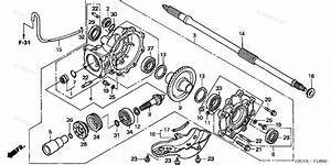 Honda Atv 2006 Oem Parts Diagram For Final Driven Gear