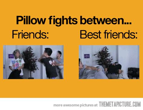 Pillow Fight Meme - what is a friend girlsaskguys